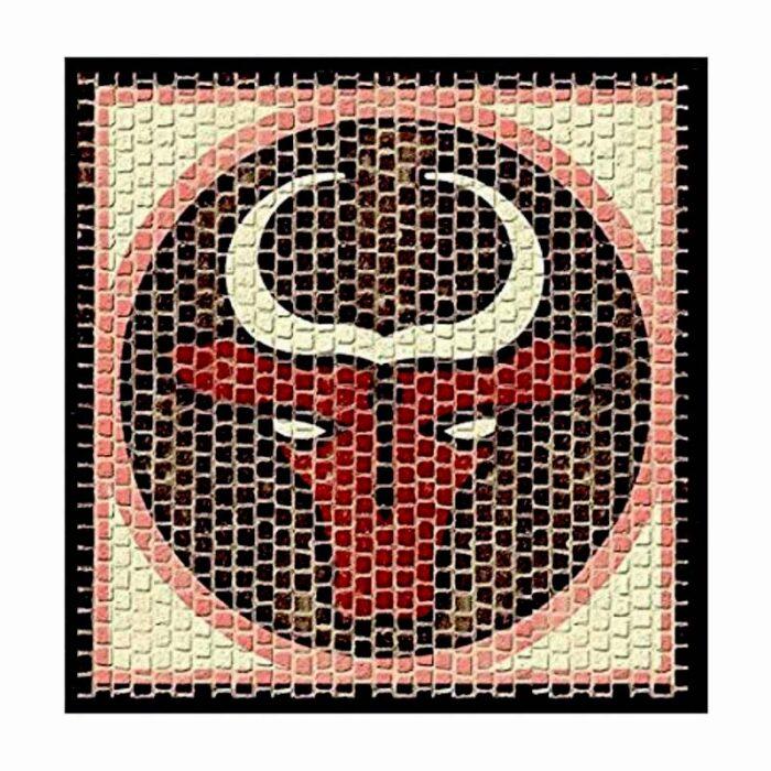 Мозайка Taurus CUIT Зодия Телец