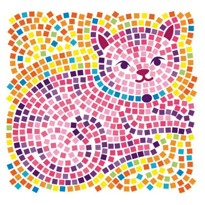 Мозайка за стъкло котка Window Mosaic Cat