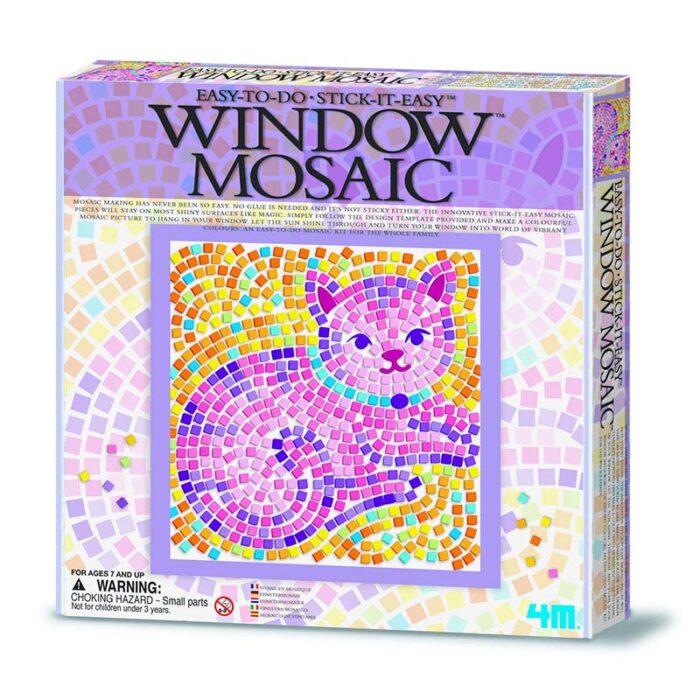 Мозайка за стъкло котка Window Mosaic Cat кутия