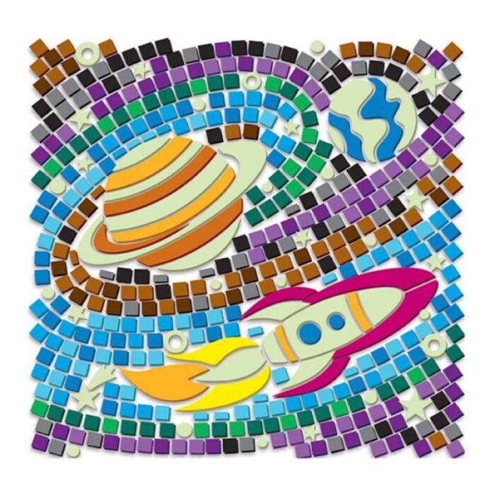 Мозайка за стъкло светещ космос Window Mosaic Glow Space