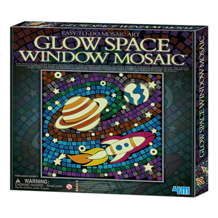 Мозайка за стъкло светещ космос Window Mosaic Glow Space кутия