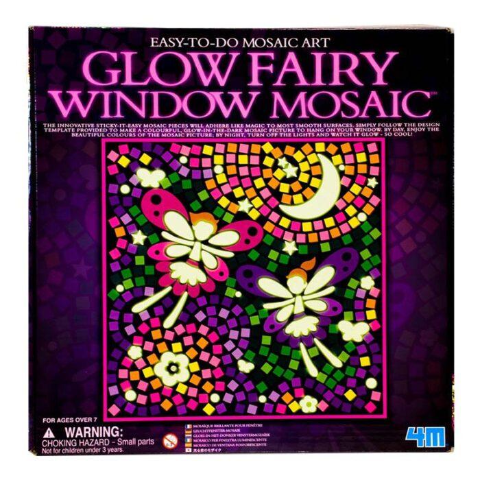 Мозайка за стъкло светещи фей Window Mosaic Glow Fairy кутия