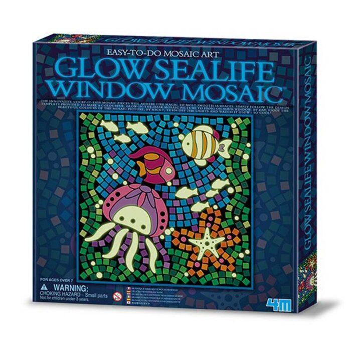 Мозайка за стъкло светещо морско дъно Window Mosaic Glow Sealife куитя