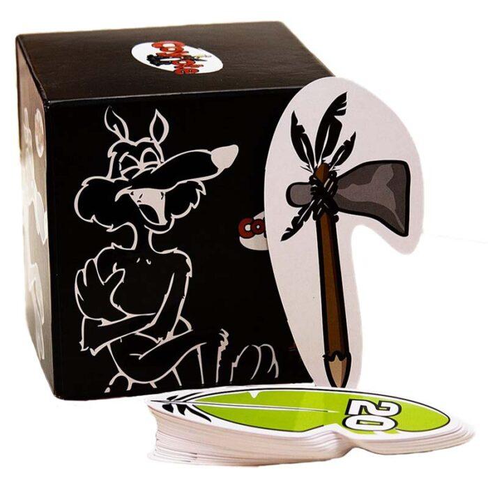 Настолна игра Coyot Gigamic Койот кутия и карти