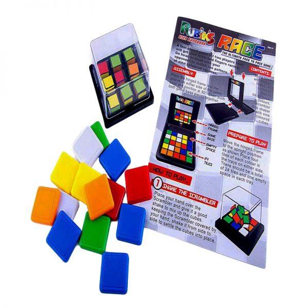 Настолна игра Magic Block Game елементи скрамблер и упътване