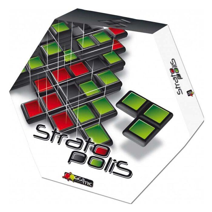 Настолна игра Stratopolis Gigamic Стратополис кутия