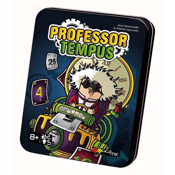 Настолна игра с карти Professor Tempus Gigamic Игра с карти куитя