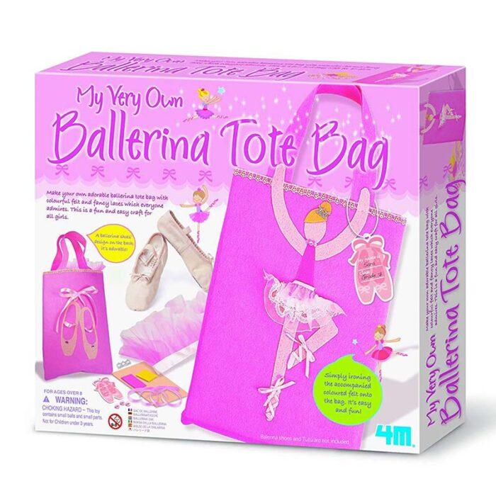 Образователен комплект Ballerina Tote Bag 4M Чанта с балерина кутия