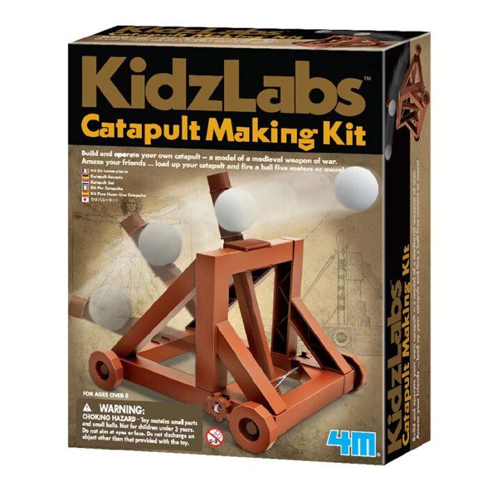Образователен комплект Catapult Making Kit 4M Катапулт кутия