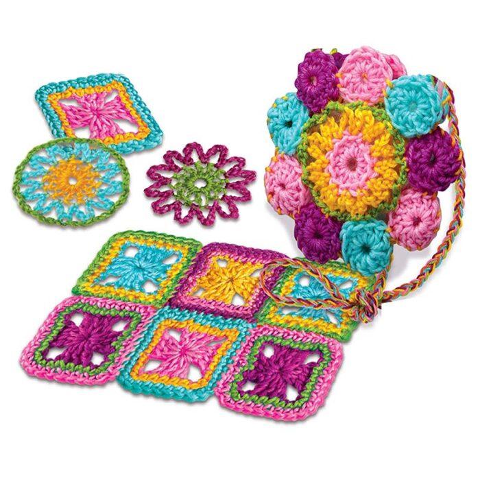 Образователен комплект Crochet 4M Плетене на една кука изделия