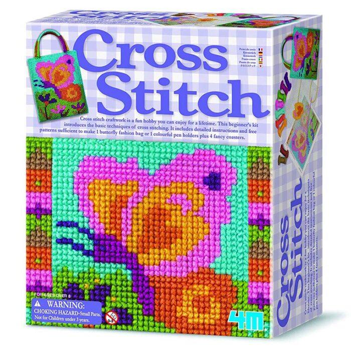 Образователен комплект Cross Stitch 4M Кръстат бод кутия