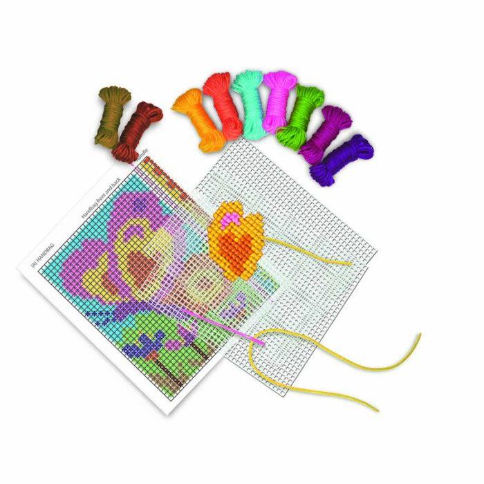 Образователен комплект Cross Stitch 4M Кръстат бод принадлежности