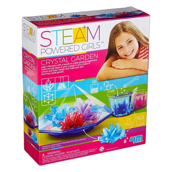Образователен комплект Crystal Garden 4M Кристална градина кутия