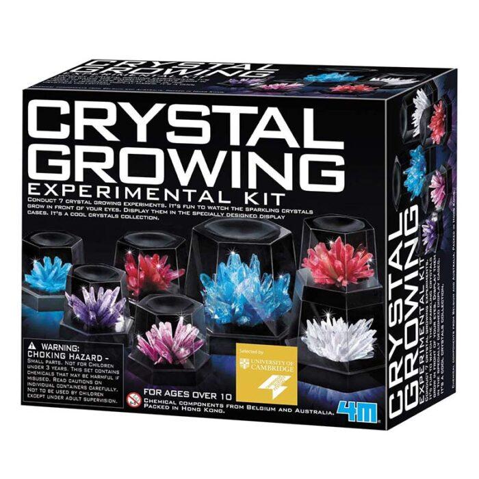 Образователен комплект Crystal Growing 4M Отглеждане на кристали кутия