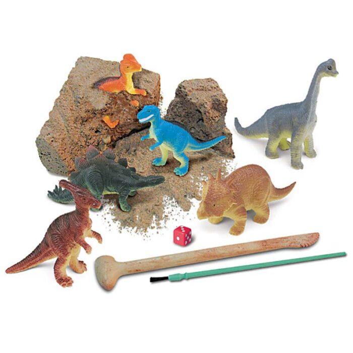 Образователен комплект Dig and Play Dinosaur World 4M Светът на динозаврите динозаври