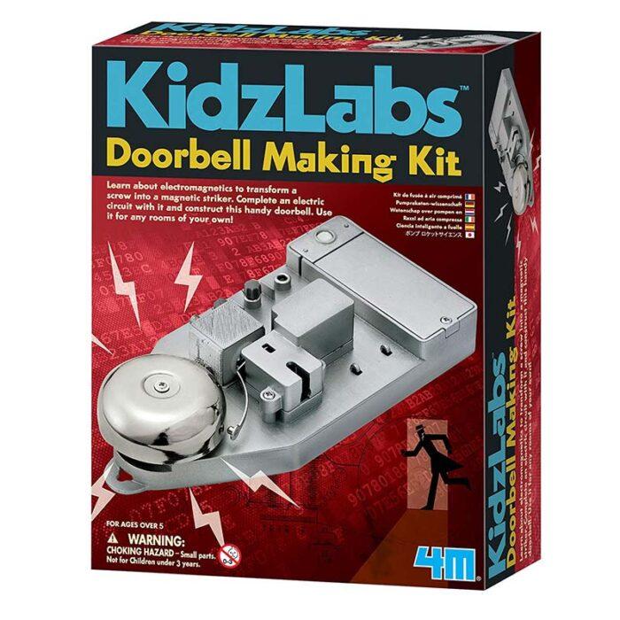 Образователен комплект Doorbell making kit 4M Звънец за врата кутия