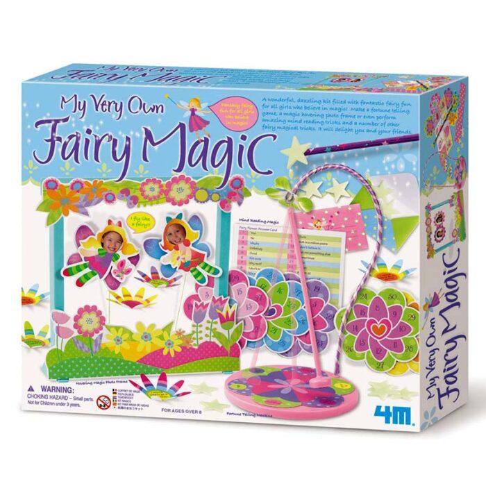 Образователен комплект Fairy Magic 4M Фокуси с феи кутия