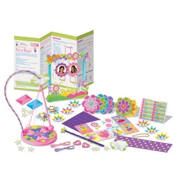 Образователен комплект Fairy Magic 4M Фокуси с феи съдържание