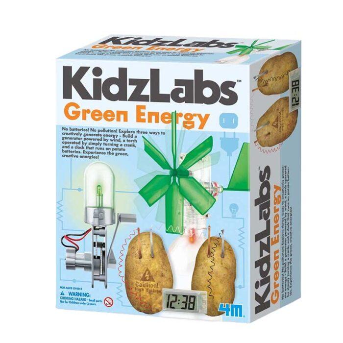 Образователен комплект Green Energy 4M Зелена енергия кутия