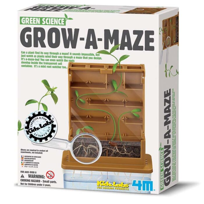 Образователен комплект Grow a Maze Растителен лабирит кутия
