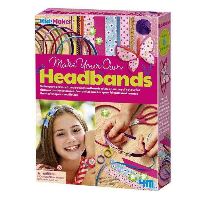 Образователен комплект Headbands 4M Сатенени диадеми кутия