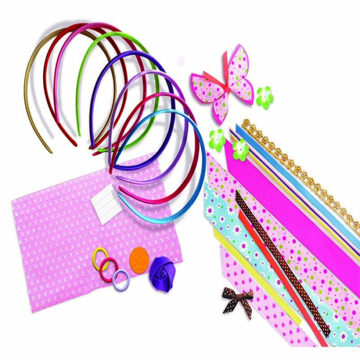 Образователен комплект Headbands 4M Сатенени диадеми материали