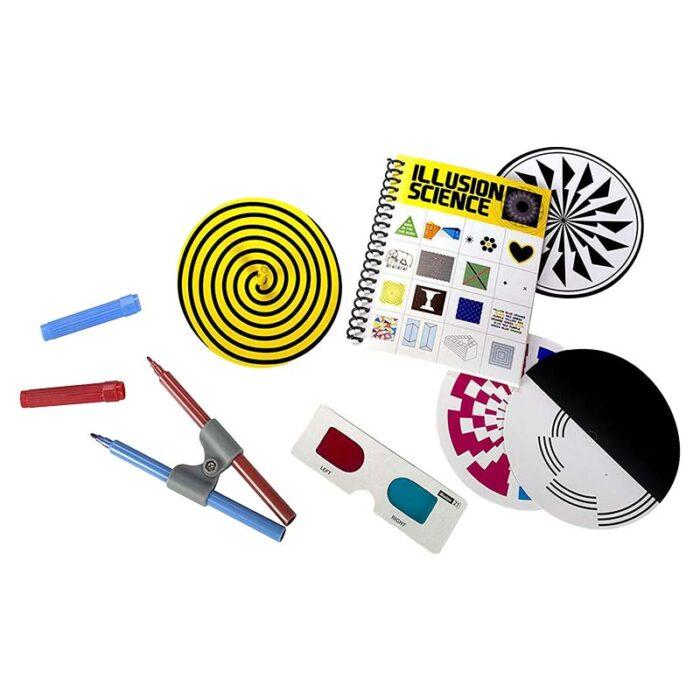 Образователен комплект KidzLab Illusin Science 4M материали