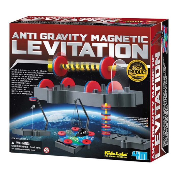 Образователен комплект KidzLabs Anti Gravity Magnetic Levitation 4M кутия