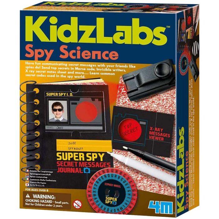 Образователен комплект KidzLabs Spy Science 4M