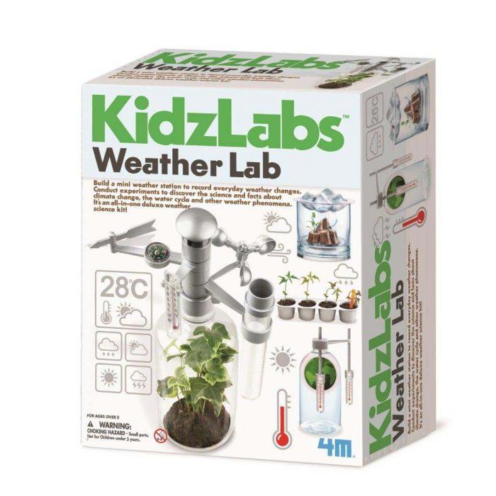 Образователен комплект Kidzlab Weather Etc!! 4M Времето и климатичните промени кутия