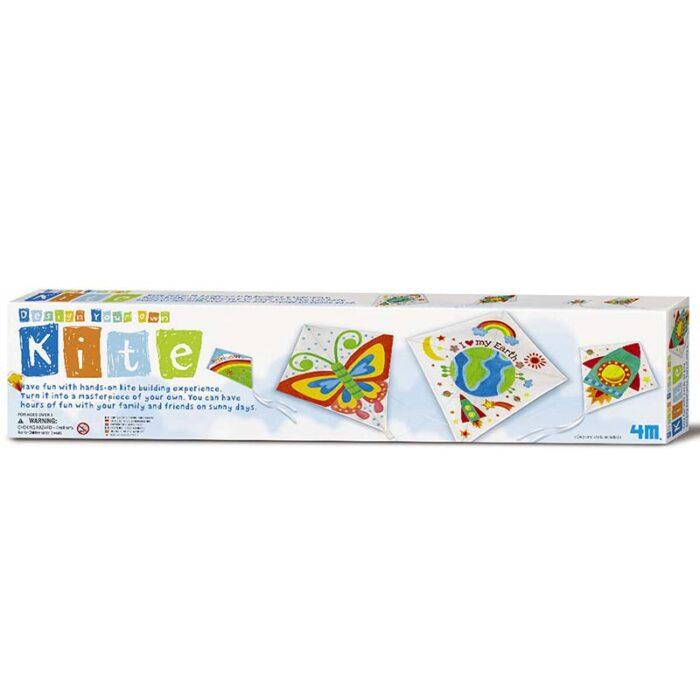 Образователен комплект Kite 4M Хвърчило кутия