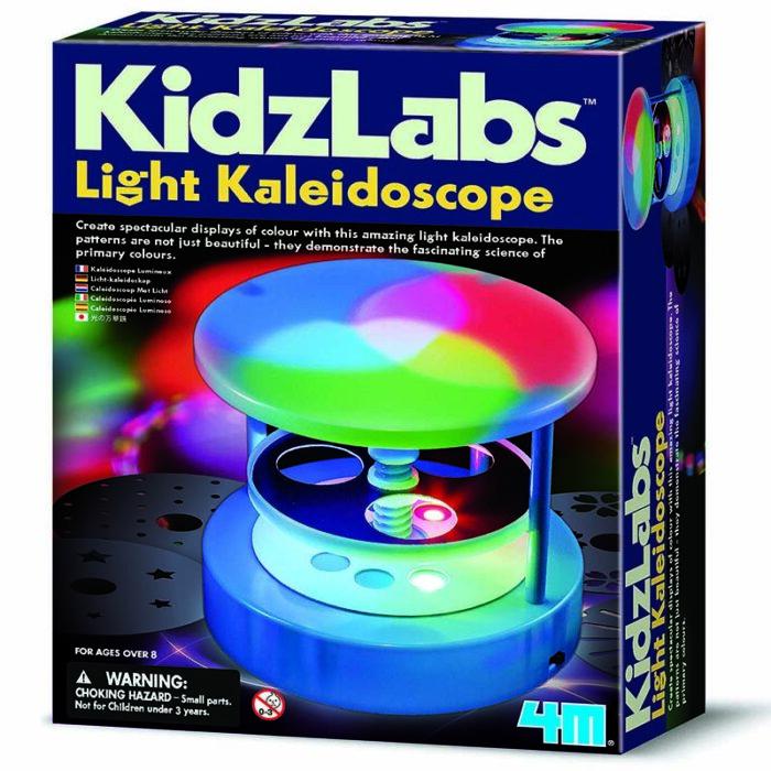 Образователен комплект Light Kaleidoscope Светлинен калейдоскоп кутия