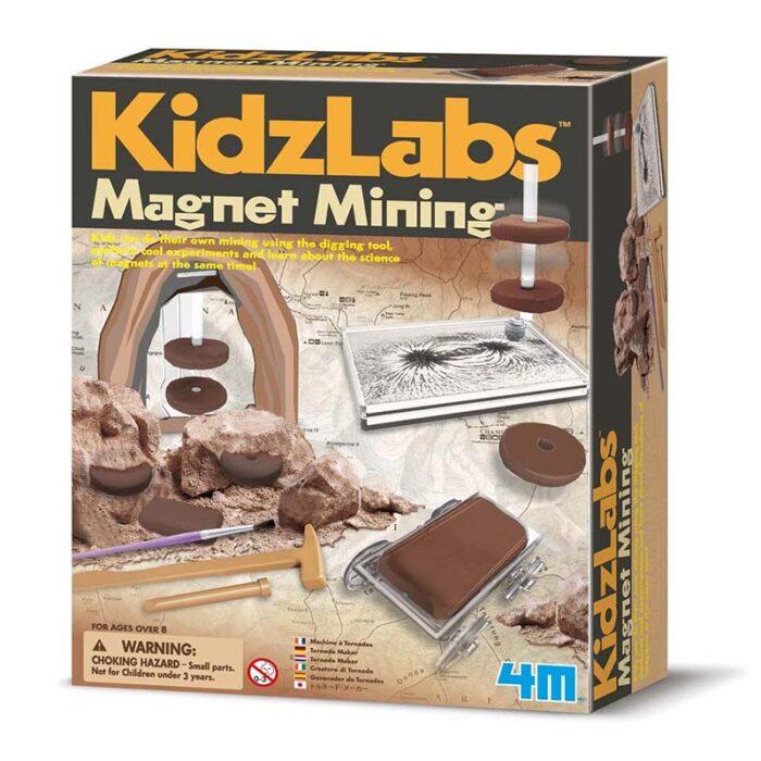 Образователен комплект Magnet Mining 4М Магнитна мина кутия