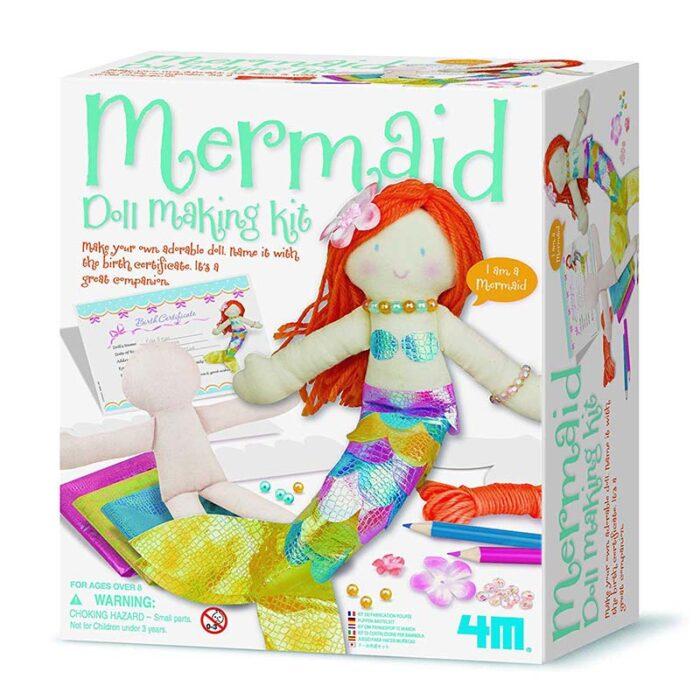 Образователен комплект Mermaid Doll 4M Русалка куитя