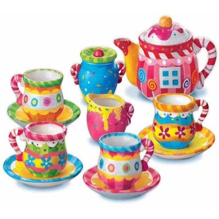 Образователен комплект Mini Tea Set 4M Сервиз за чай