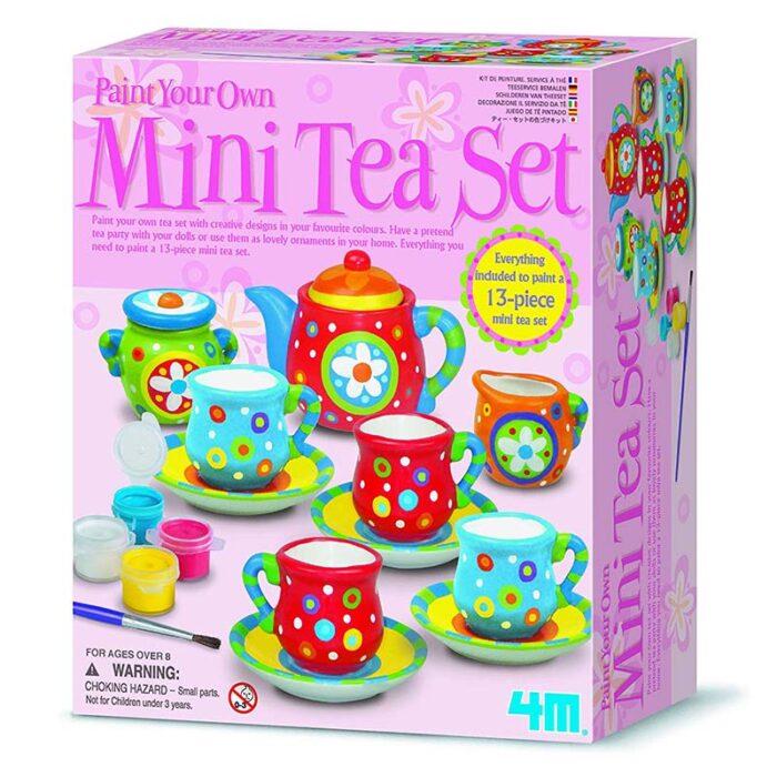 Образователен комплект Mini Tea Set 4M Сервиз за чай кутия