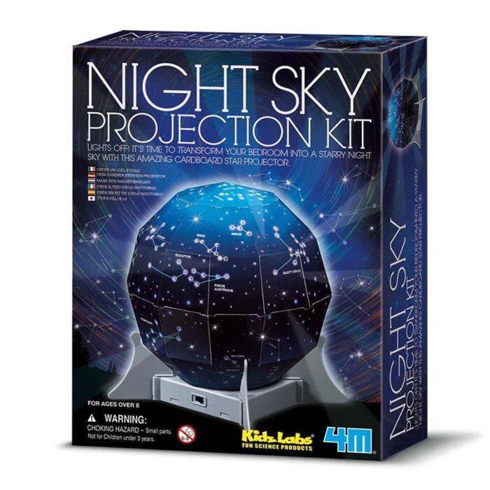 Образователен комплект Night Sky Projection 4M Нощен прожекционен апарат кутия