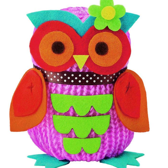 Образователен комплект Owl Doll 4M Оплети си бухалче
