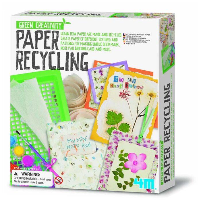 Образователен комплект Paper Recycling Рециклиране на хартия кутия