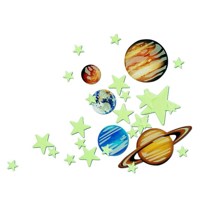 Образователен комплект Planets and Supernova Glow 4M Супернова Планети и блестящи звезди
