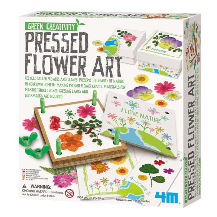 Образователен комплект Pressed Flower Art Хербарий кутия