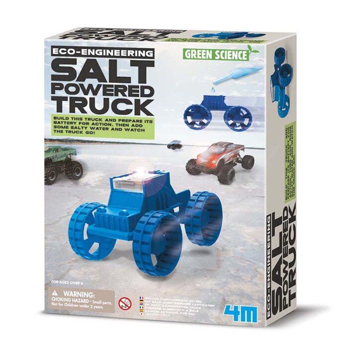 Образователен комплект Salt powered Truck 4M Камион със солен двигател кутия