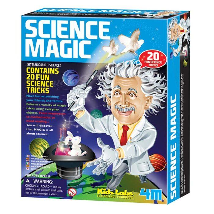 Образователен комплект Science Magic 4M Наука и фокуси кутия