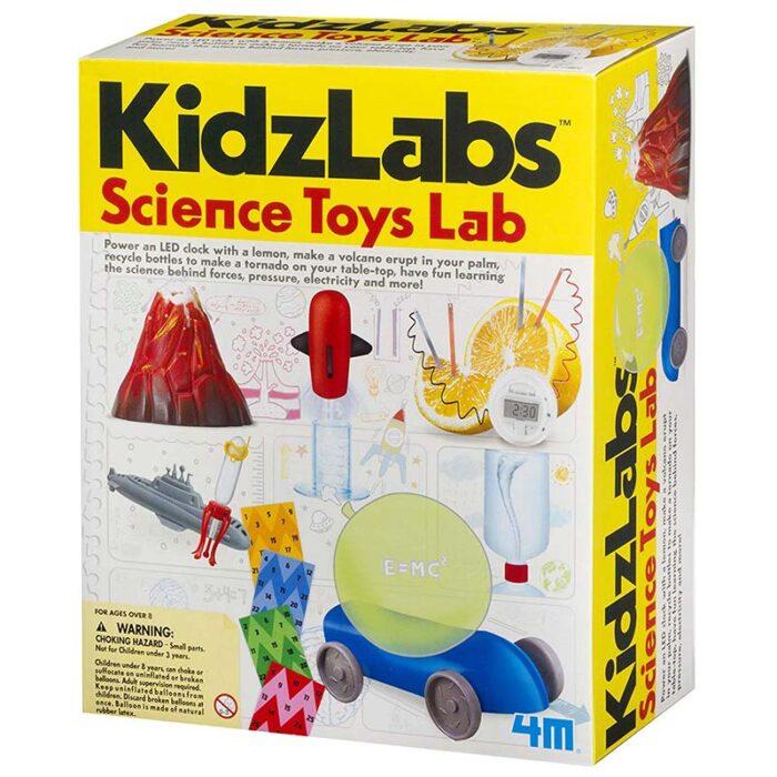 Образователен комплект Science Toys Lab 4M кутия