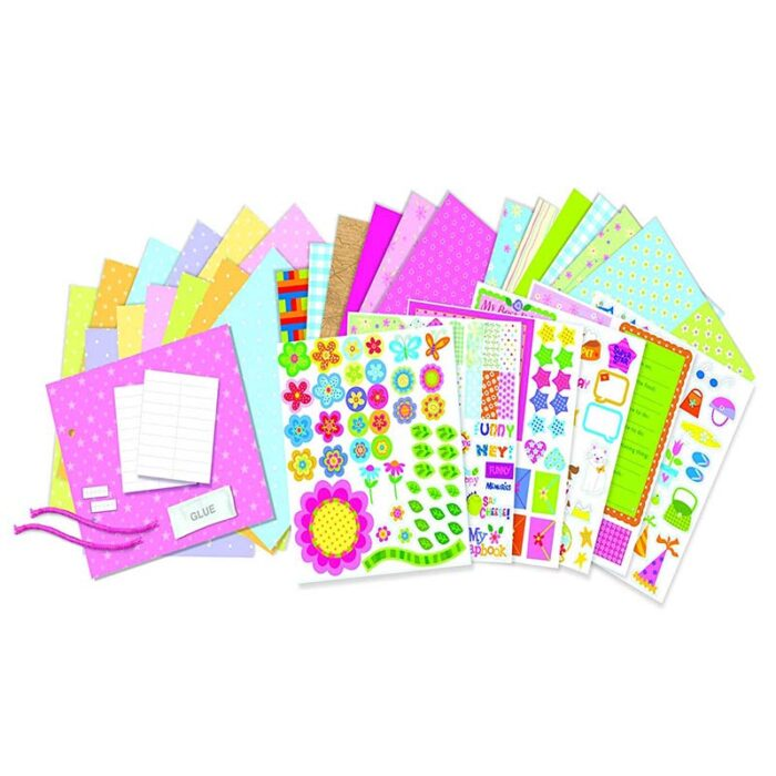 Образователен комплект Scrapbook 4M Лексикон материали