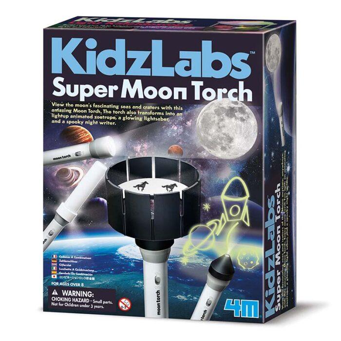 Образователен комплект Super Moon Torch 4M Лунен прожектор кутия