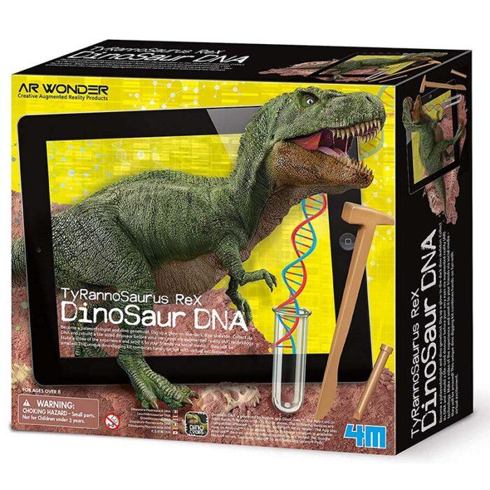 Образователен комплект Tyrannosaurus Rex Dinosaur DNA ДНК на Тиранозавър Рекс кутия
