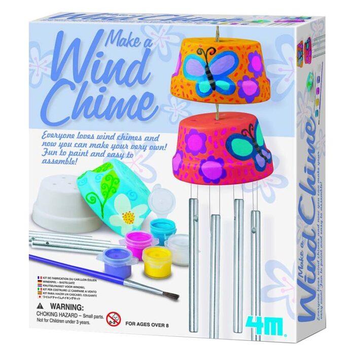 Образователен комплект Wind Chime 4M Вятърни камбанки кутия