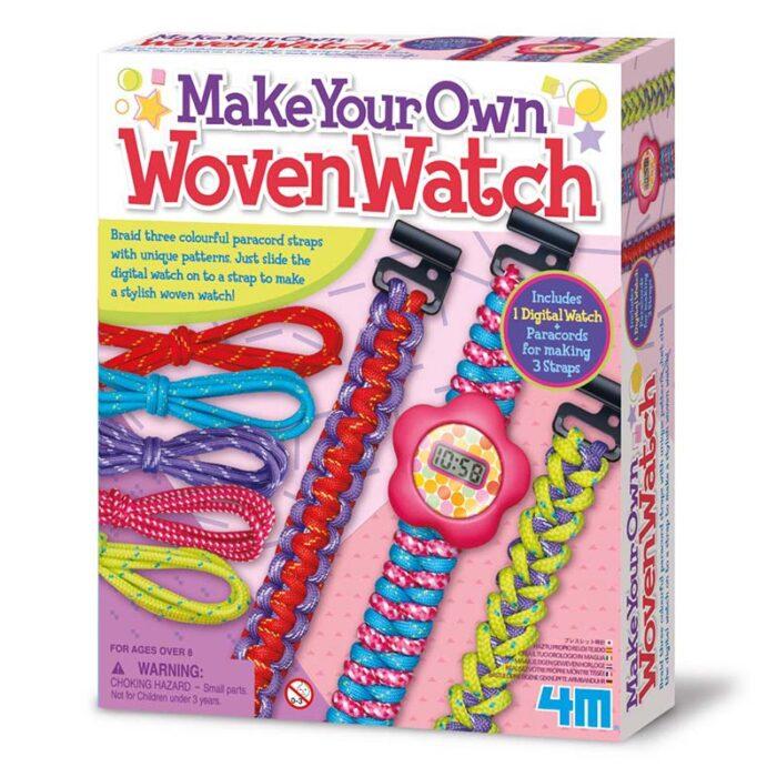 Образователен комплект Woven Watch 4M Изтъкан часовник кутия
