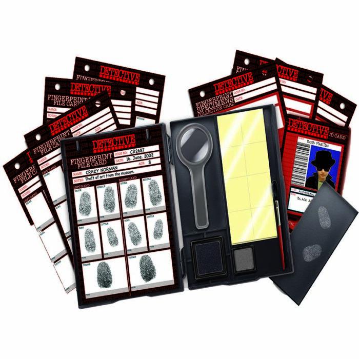 Образователне комплект Kidz Lab Fingerprint Kit 4M материали
